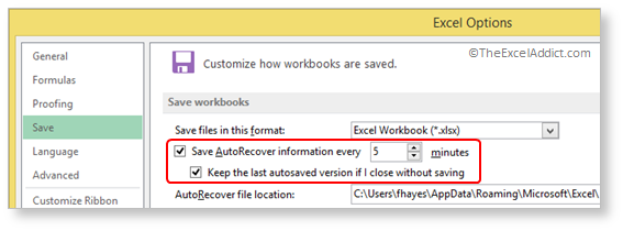 How to Recover A Workbook You Forgot to Save Changes to 2