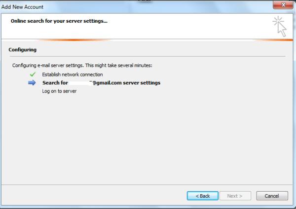 Outlook Account Setup